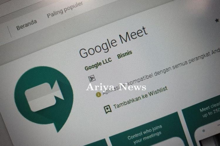 Cara Membuat Latar Belakang Jadi Buram di Google Meet Versi PC