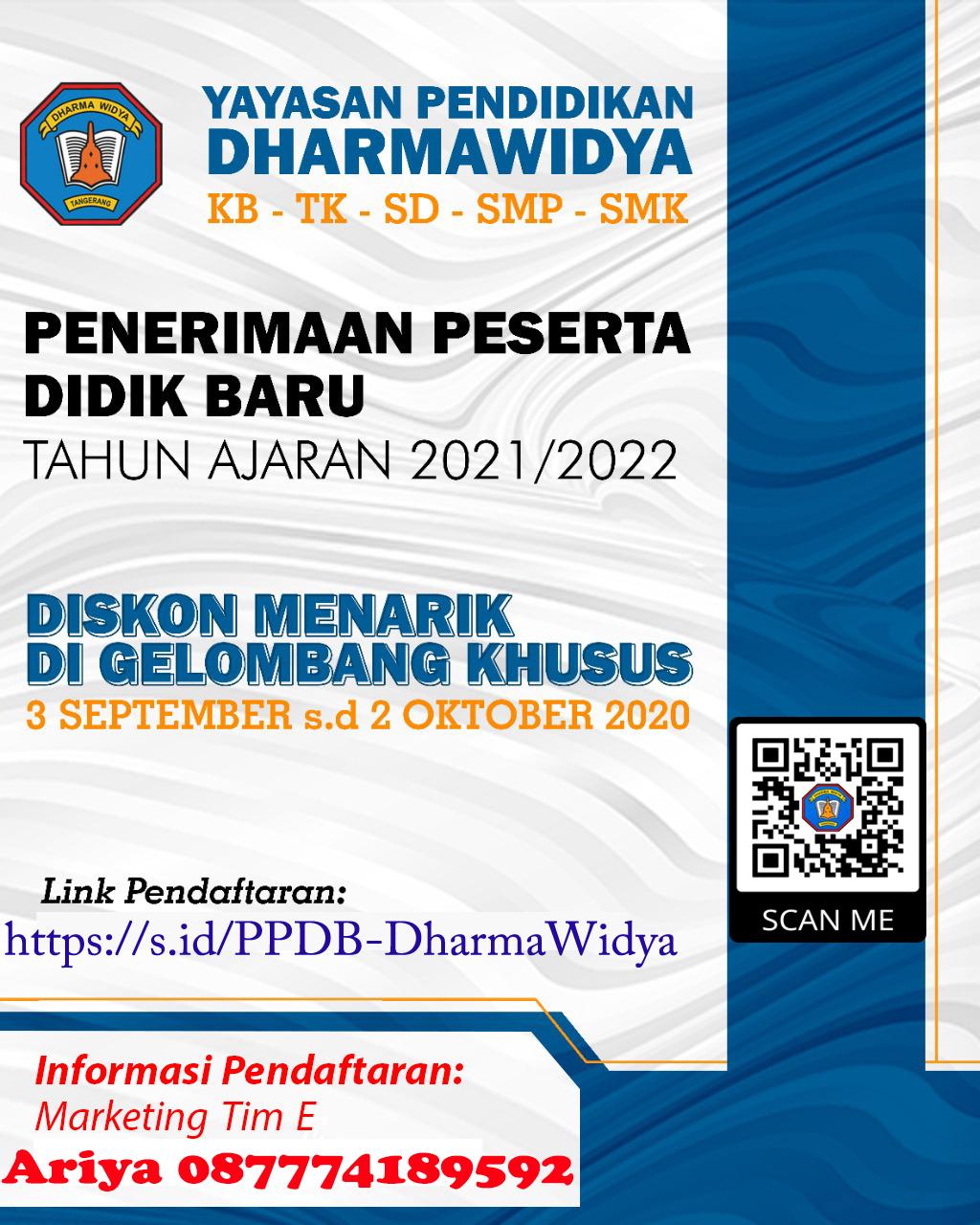 PPDB Sekolah Dharma Widya